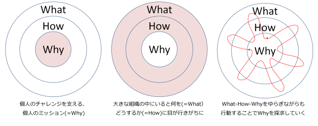 What How Why の揺らぎ